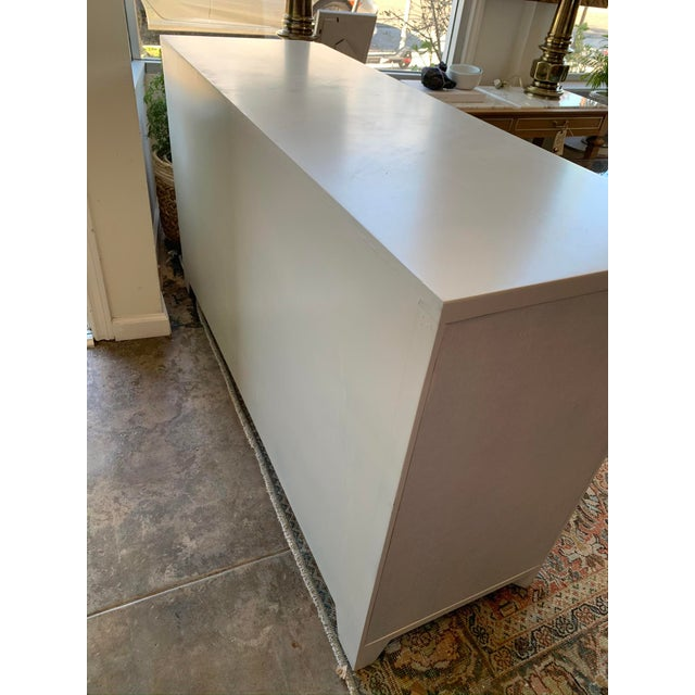 2010s Modern Bone White Buffet From Made Goods For Sale - Image 5 of 10