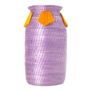 Mini Fanned Out Vase Tall Lilac For Sale