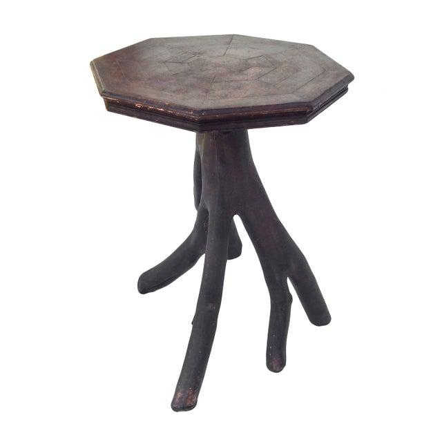 Folk Art Twig Table - Image 4 of 10