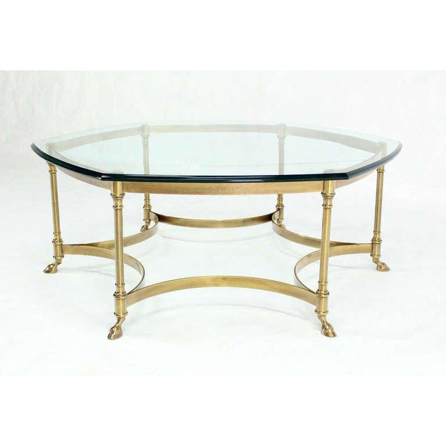 Phenomenal 20Th Century Italian Coffee Table With Hoof Feet Interior Design Ideas Clesiryabchikinfo