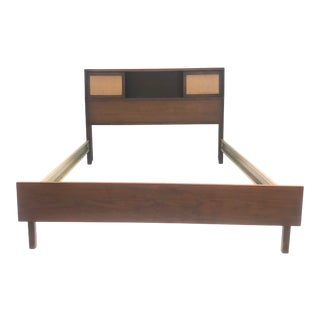 Mid-Century Storage Headboard by Bassett For Sale