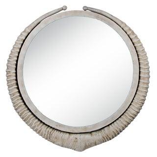 Faux Horn Mirror