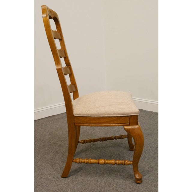 American Drew Saxony Collection Ladderback Dining Side Chair For Sale In Kansas City - Image 6 of 9