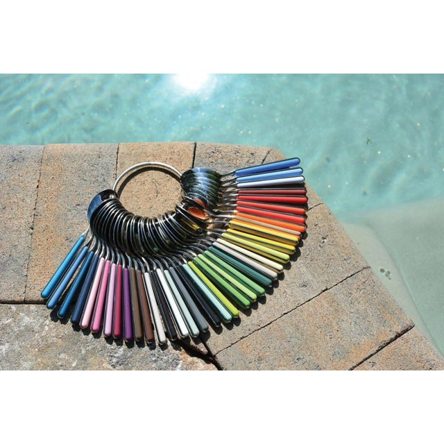 Made in Italy with the highest quality of 18/10 stainless steel and resin made with Nylon and Fiberglass. Colorfull,...