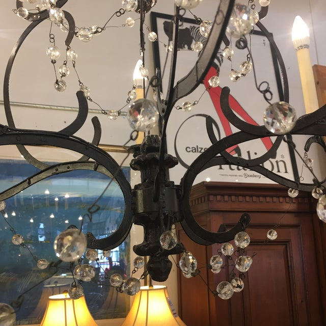 Visual Comfort Niermann Weeks Lombary Double Tiered Chandelier For Sale - Image 9 of 11