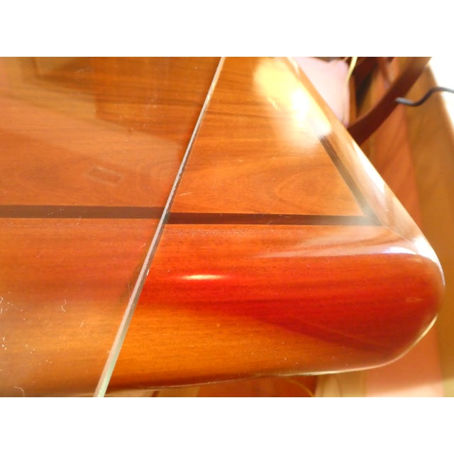 Dyrlund Rosewood Executive Desk - Image 7 of 10
