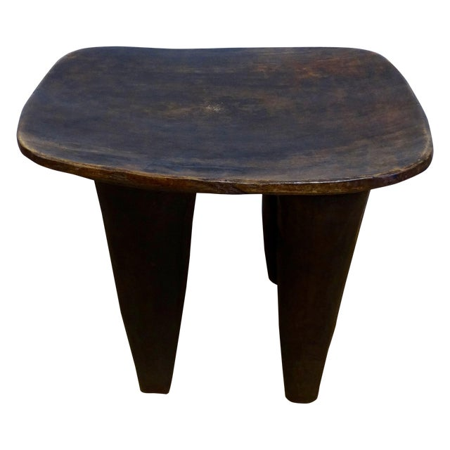 Handmade African Table - Image 1 of 4