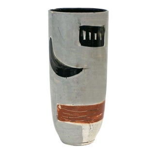 Abstract Motif Studio Art Vase For Sale