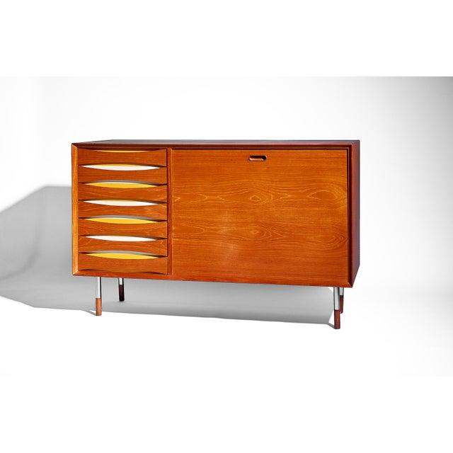 Arne Vodder Teak Credenza for Sibast Møbler, Circa 1950's For Sale - Image 9 of 9