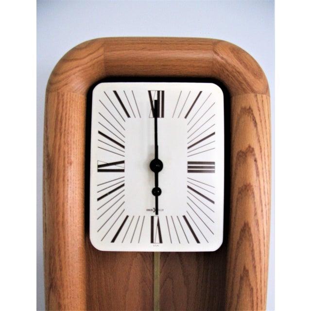 Arthur Umanoff for Howard Miller Mantel Grandfather Clock For Sale - Image 5 of 5