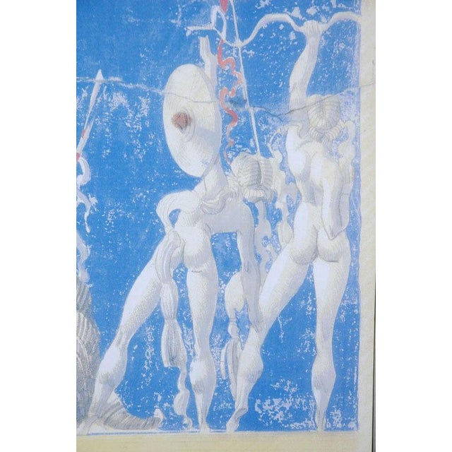 Figurative Large Scale William Haines Canvas 1 Mural For Sale - Image 3 of 3