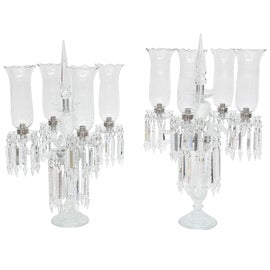 Image of Glass Candle Holders