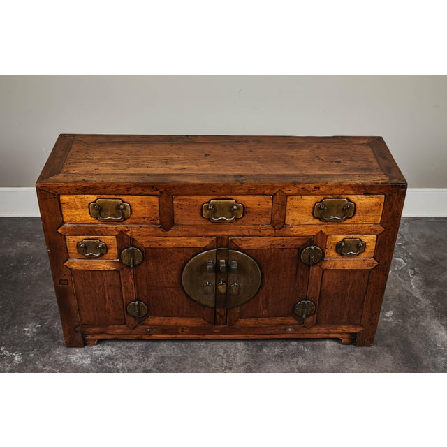 Mid 19th Century 19th C. Chinese Poplar Sideboard For Sale - Image 5 of 10