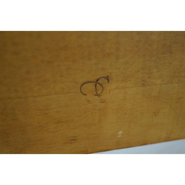 Mid-Century Cane Back Full-Size Headboard - Image 9 of 10