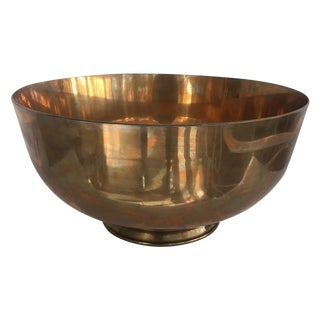 Brass Equestrian Trophy Bowl For Sale
