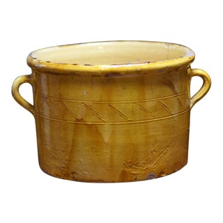 Antique French Terra Cotta Pot