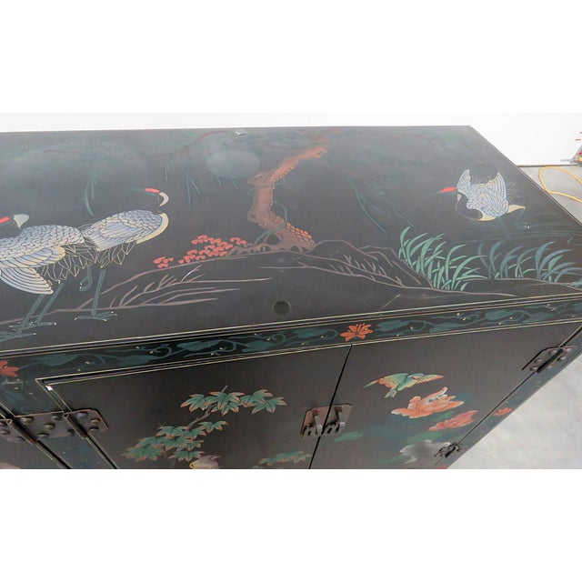 Asian Paint Decorated Cabinet For Sale In Philadelphia - Image 6 of 11