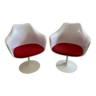 Saarninen Tulip Armchairs for Knoll - a Pair For Sale