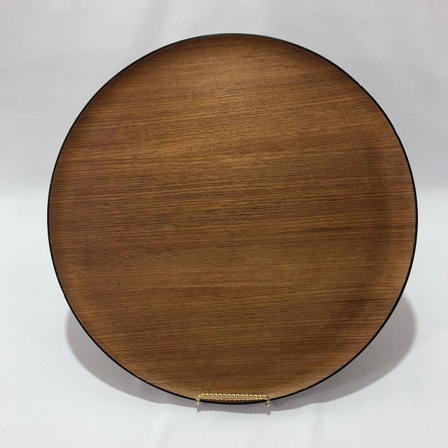 Mid-Century Herman Miller Walnut Tray For Sale - Image 9 of 9