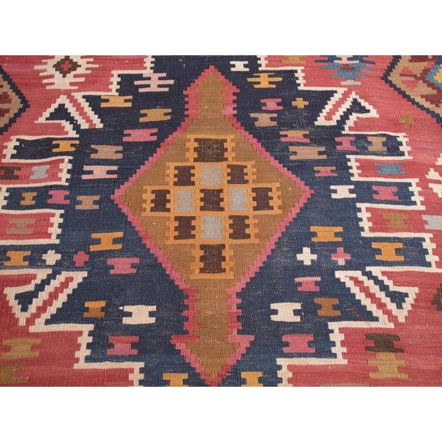 Textile Kuba Kilim For Sale - Image 7 of 7