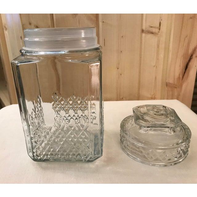 Vintage Square Canister Jar - Image 6 of 11