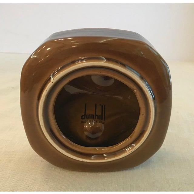 Green Mid Century Vintage Brown Ceramic Egg Holder For Sale - Image 8 of 10