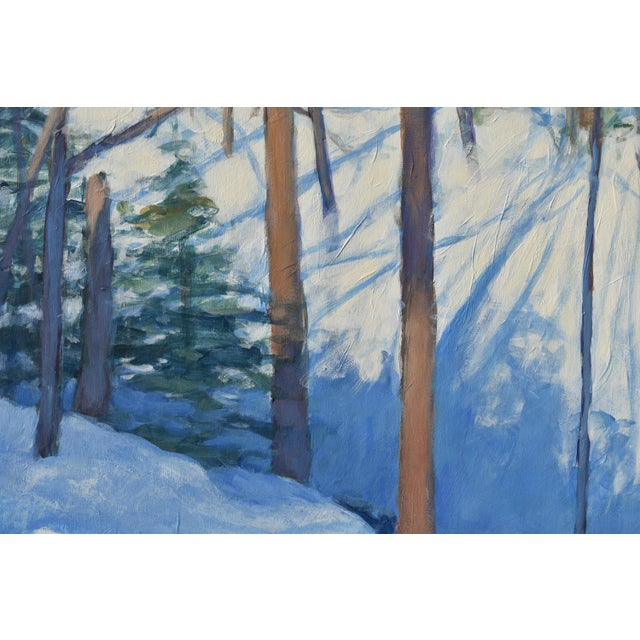 """2010s Stephen Remick """"Sunny Ridgeline"""" Contemporary Painting For Sale - Image 5 of 12"""