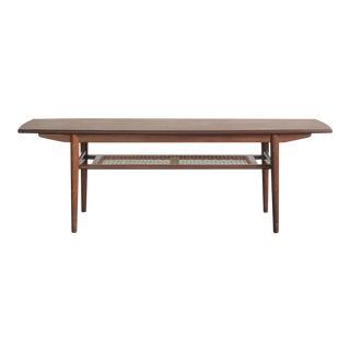Mid-Century Modern Danish Surfboard Coffee Table For Sale