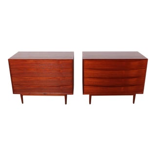 Pair of Teak Dressers by Arne Vodder for Sibast For Sale