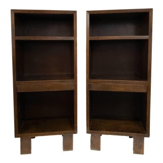 Mid Century Modern George Neslon for Herman Miller Bookcases - a Pair For Sale