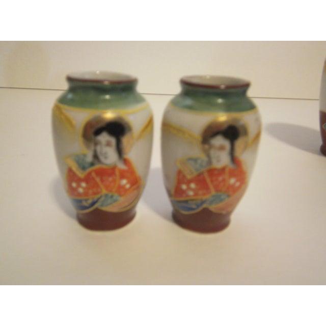Miniature Satsuma Vases - Set of 8 - Image 5 of 11