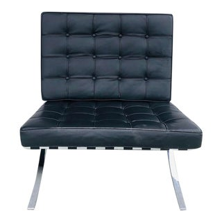 21st Century Barcelona Style Chair For Sale