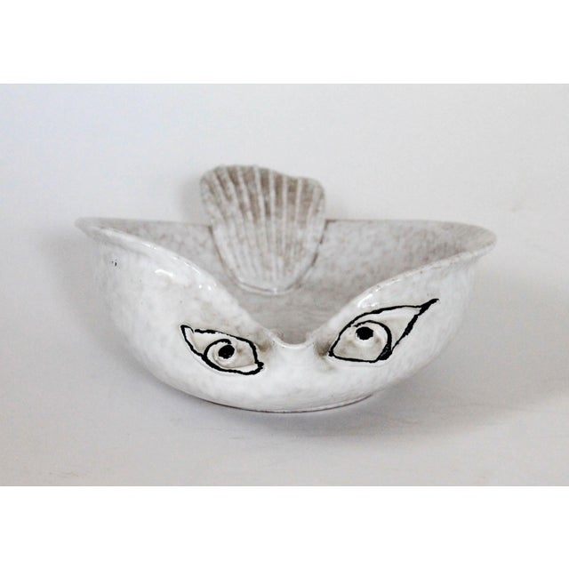 Ceramic Italian Pottery Fish Catchall For Sale - Image 7 of 7