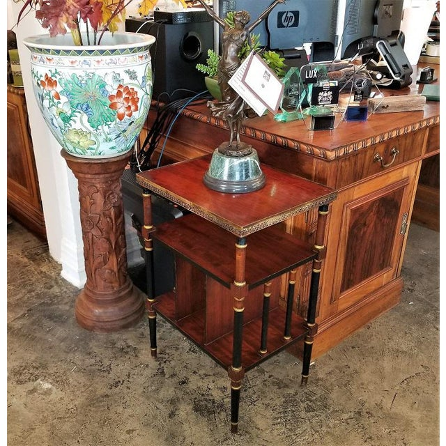 Empire Style Canterbury Side Table For Sale - Image 12 of 13