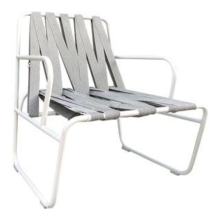 Gandia Blasco White Outdoor Seatbelt Chair