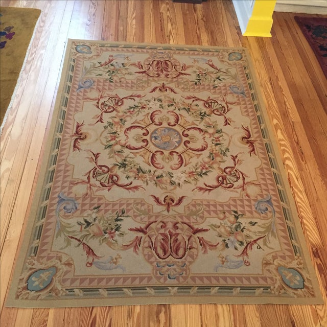 Beautiful tapestry with vivid colors and a pretty design. In very good condition. No holes, smell, rips or stains. Enjoy!