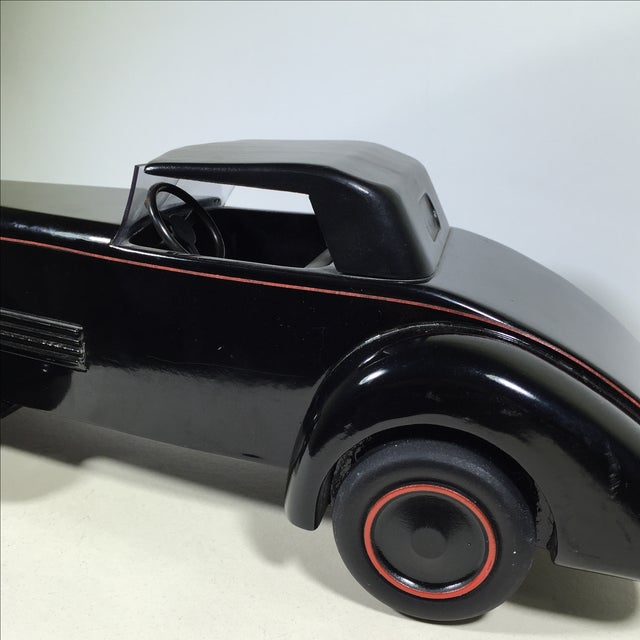 Cord 1930 Limited Edition Wood Model Car For Sale - Image 5 of 10