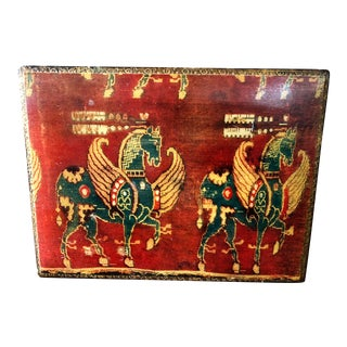 Vintage Florentine Pegasus Box For Sale