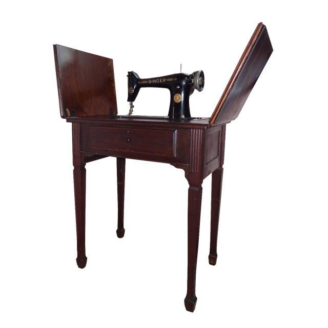 Antique Singer Sewing Machine - Image 1 of 4