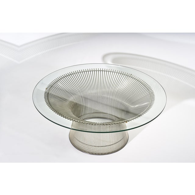 Knoll Warren Platner Coffee Table Manufactured by Knoll For Sale - Image 4 of 8