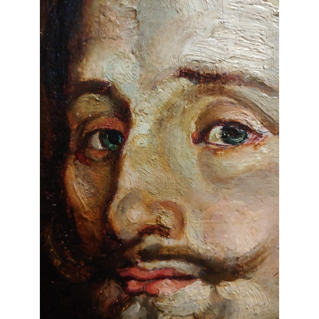 Late 18th Century Portrait of a Spanish Gentleman 17th/18th Century Oil Painting For Sale - Image 5 of 9