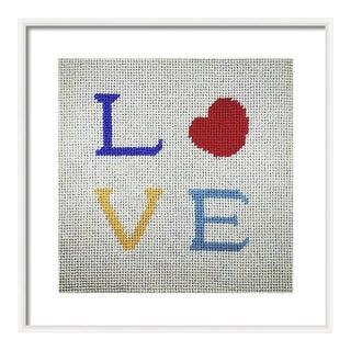 Modern Love Original Framed Art
