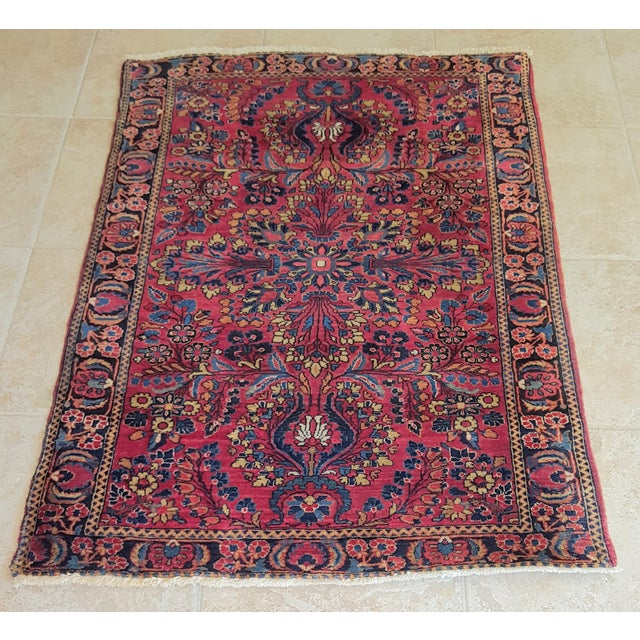 Brightly Colored Persian Rug - 3′4″ × 5′1″ - Image 2 of 4