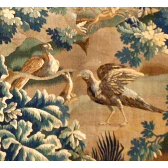 Late 18th Century Antique Verdure Tapestry For Sale - Image 5 of 6