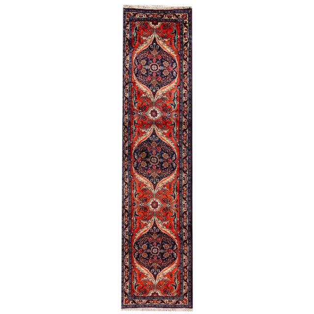 "Red Antique Heriz Runner Rug, 2'8"" X 11' For Sale - Image 8 of 8"