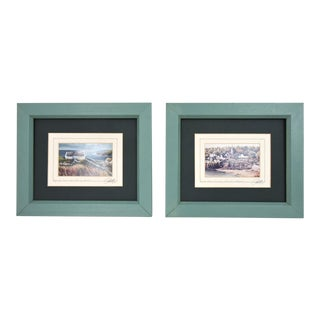 Signed Philip Grey Lithographs of Ireland - A Pair For Sale