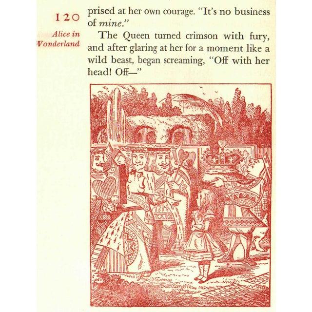 """Alice in Wonderland"" Book Circa 1960 - Image 2 of 4"