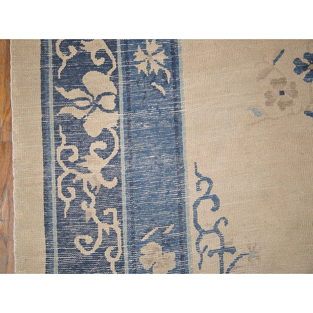 "Antique Chinese Peking Rug 10'2"" X 13'2"" For Sale In New York - Image 6 of 7"