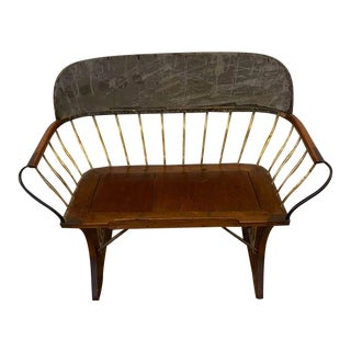 Antique Stagecoach Buggy Bench For Sale