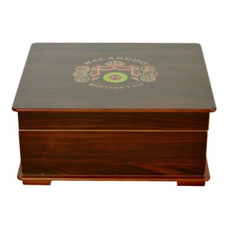 Vintage Macanudo Cigar Humidor From the Dominican Republic For Sale